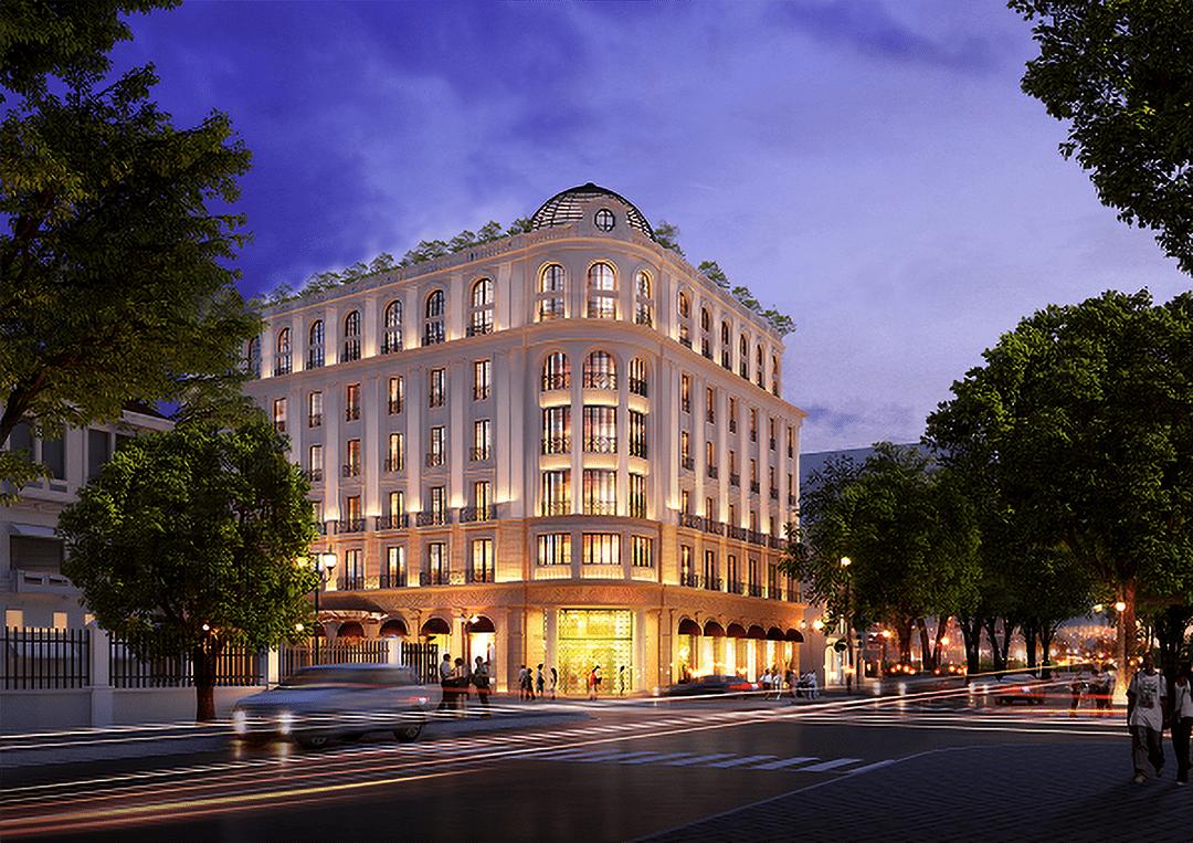 King Gold trang trí nẹp chỉ vàng dự án Petit Fairmont Hotel Hà Nội