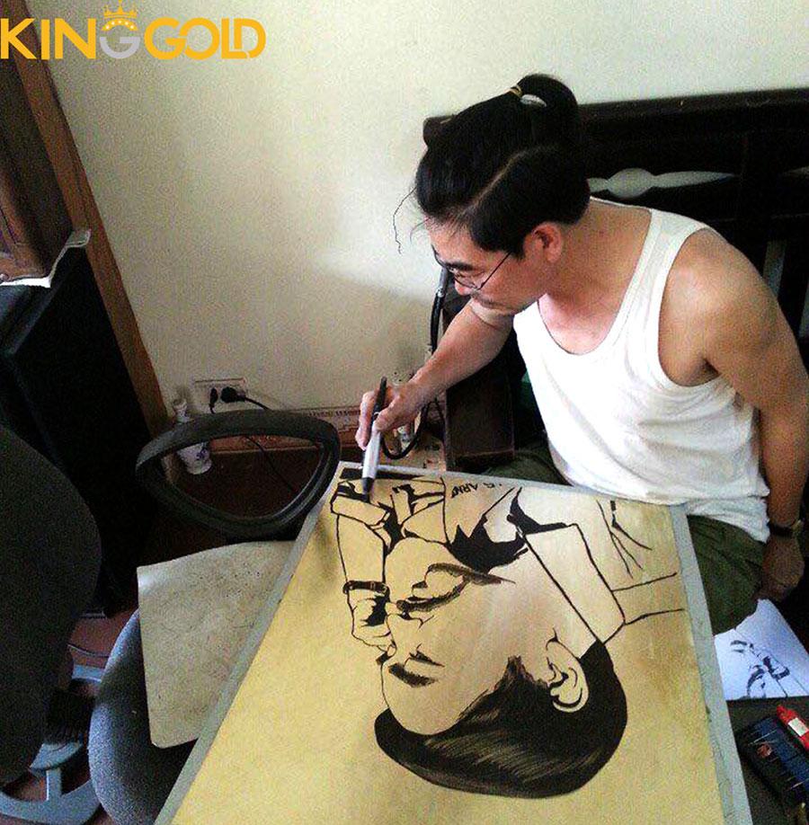 Điêu khắc chân dung, chế tác tranh chân dung bằng đồng